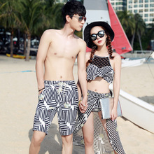 Gyngell new bathing suit Fashion romantic sweet couple swimsuit bikini three-piece beach pants, 1725