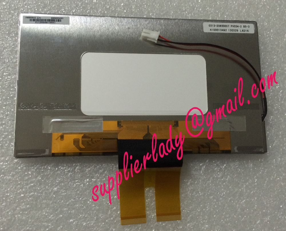 Original and New 6.5inch LCD Screen PM065WX3(LF) PM065WX3 for Car GPS Free Shipping<br>