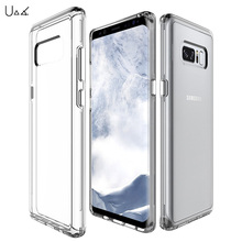 UVR Clear For Samsung Galaxy Note 8 Case Silicone Transparent Phone Case For Samsung Galaxy Note8 Ultra-thin TPU Soft Back Cover