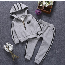 boy clothes kids sports suit hot sale cotton kids tracksuit for girls casual Preschool children's suit set infant clothing girl
