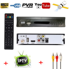 HD AC-3 DVB-S2 Digital Satellite Receiver TV Tuner m3u IPTV Combo Support Wifi Youtube IKS CS Cccam Newcam Power VU Biss Key