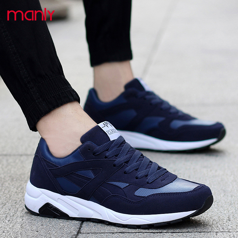 Mesh Breathable Casual Men Shoes Lovers Sport Jogging Shoes Man Flat Walking Trainers Basket Male Rubber Sole Zapatos Mujer <br><br>Aliexpress
