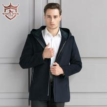 SIQILONG M-3XL large size trench men wool coat long coat woolen coat high quality wool & blends jacket coat