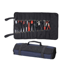 Portable Oxford Canvas Chisel Roll Rolling Repairing Tool Utility Bag Multifunctional With Carrying Handles Brand New Tool Bags