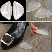 NewWomen High Heel Silicone Arch Support Shoe Inserts Foot Insole Pad Wedge Cushion xgrj