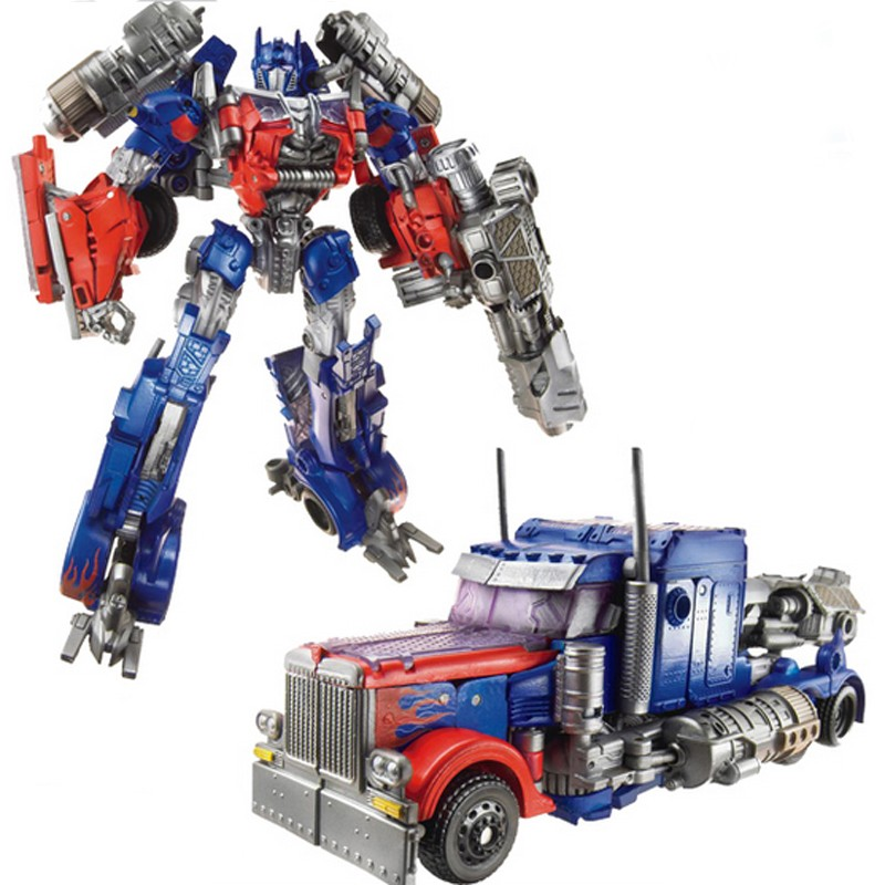 New 2014 Edition Genuine 18cm Optimus Prime Megatron Transformation Robots VOYAGER Action Figures Classic Toys for boys gifts<br><br>Aliexpress