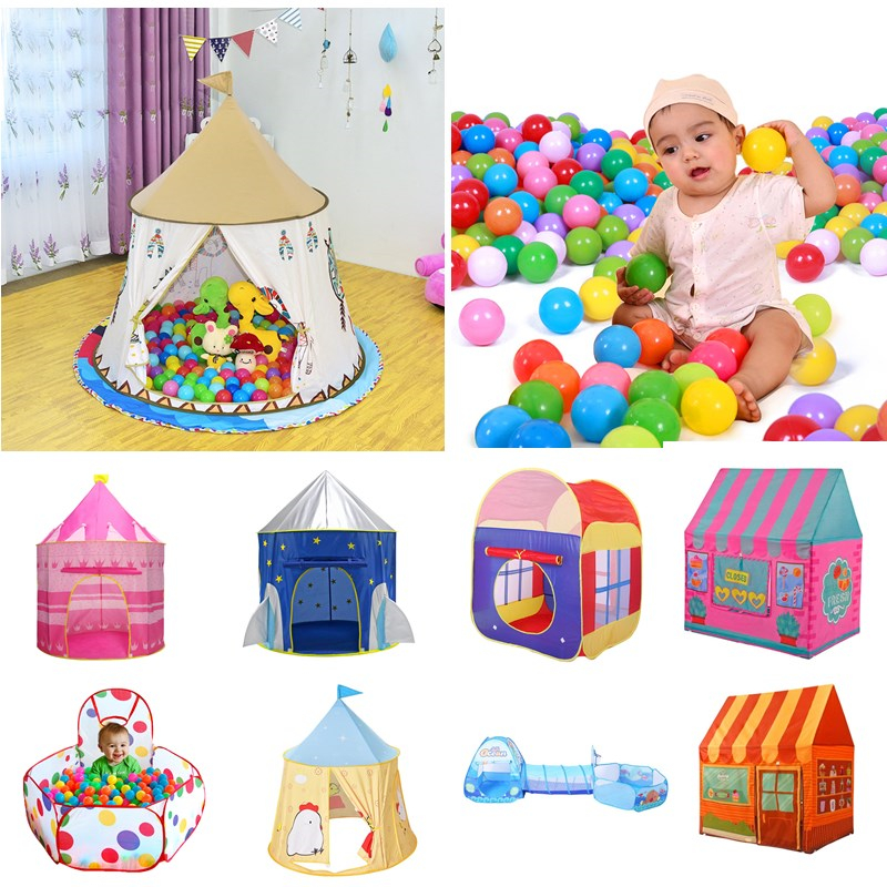 Kids Indoor Outdoor Play House Garden Camping Play Tent Hut Party Fun Toy