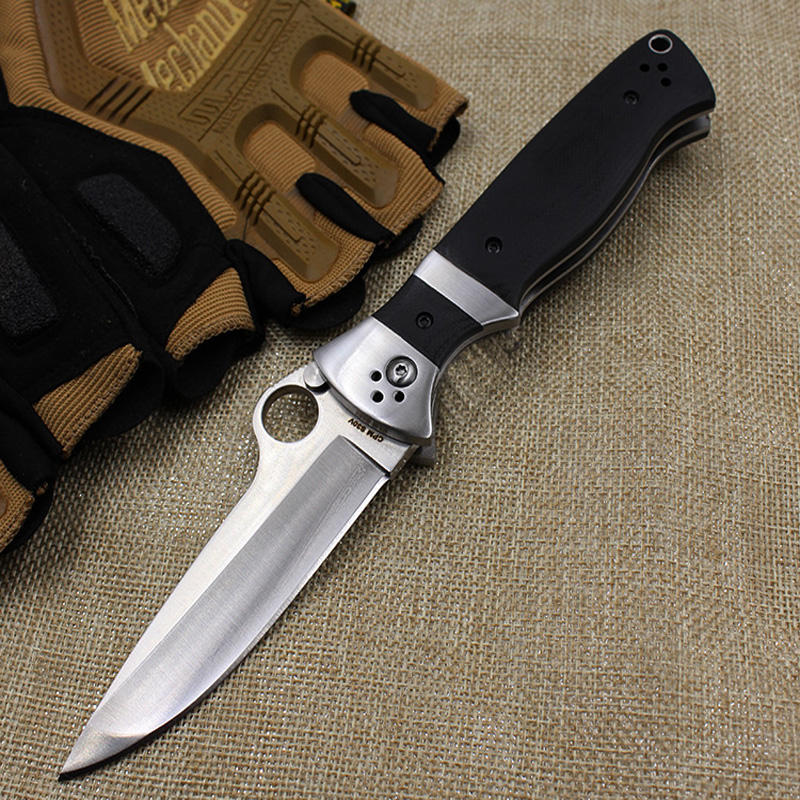 Tactical Folding Knife CPM S30V Steel G10 Handle Outdoor Camping Survival Knife Hunting Pocket Knives Combat Rescue Tool Gift<br><br>Aliexpress