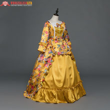 New Holiday Marie Antoinette Dress Gothic Period Medieval Dresses  Renaissance Vintage Ball Gown Inspired Elegant Costumes 989e57472a0e