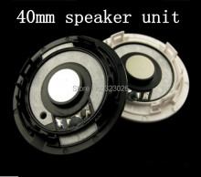 High grade fever 40mm headset speaker unit  DuPont MYLAR diaphragm imports
