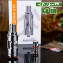 ALD Amaze Kylin low resistance super vapor 2ml e cigarette atomizer ACE TANK atomizer with top filling system