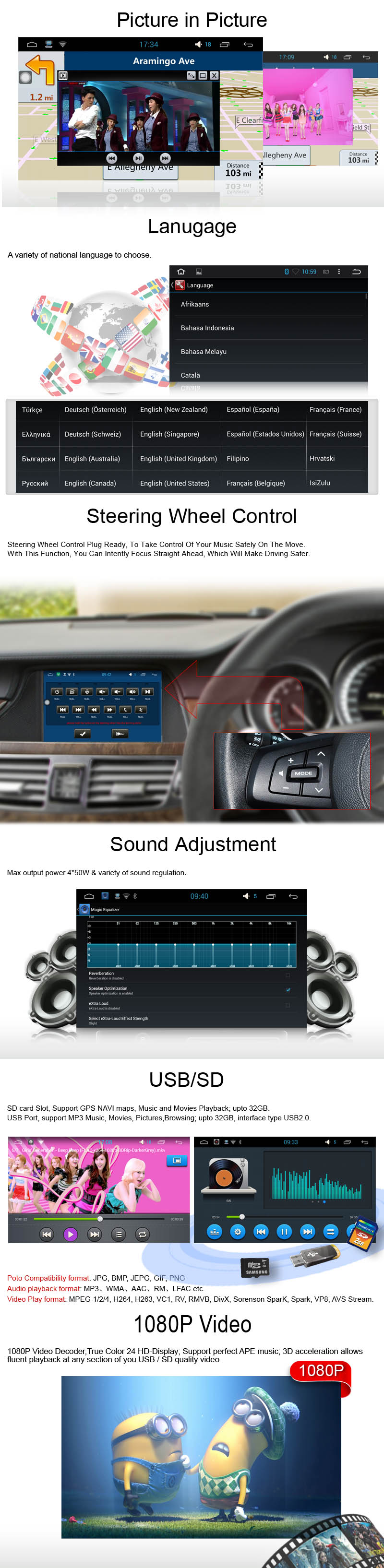 frame+Car DVD radio Android 5.1.1 Autoradio GPS Player Headunit for toyota caldina T240 2002-2007 dvr stereo audio tape recorder