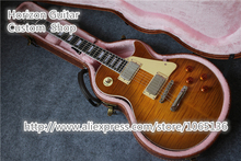 Reliable Quality Cheap Price Electric Guitar Standard Ebony Fretboard with Hard Case For Sale
