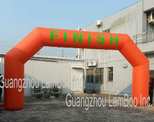 HOT 8meters/26ft Span Inflatable FINISH Archway for Sports Race/ START Arch/Different colors are vailable.