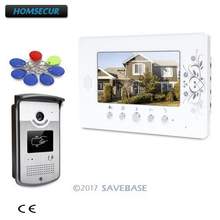 "HOMSECUR 7"" Video Door Entry Call System with Intra-monitor Audio Intercom for Apartment(China)"