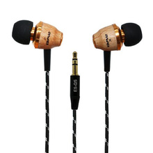 3.5mm In-ear Style Wooden fone de ouvido Earphone Original Awei Q5 New Fashion Nice Gift auriculares cuffia for MP3 MP4 Players