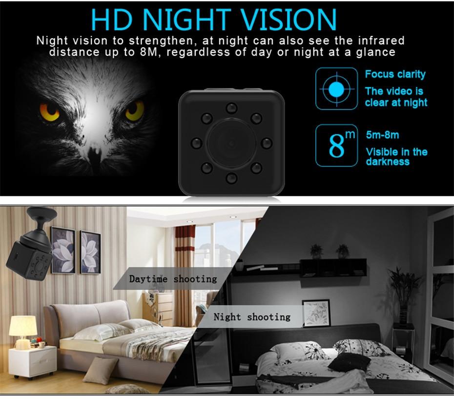 New Mini SQ13 Camera Full HD 1080P Wifi DV DVR Wireless Cam Video Camcorder Recorder Night Vision Small Camera like sq8 sq12 (8)