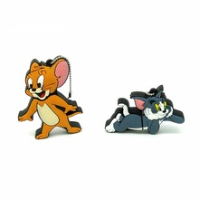 cartoon Tom and Jerry usb flash drive disk mini Cat mouse memory stick Pen drive computer gift  pendrive 4gb 8gb 16gb 32gb