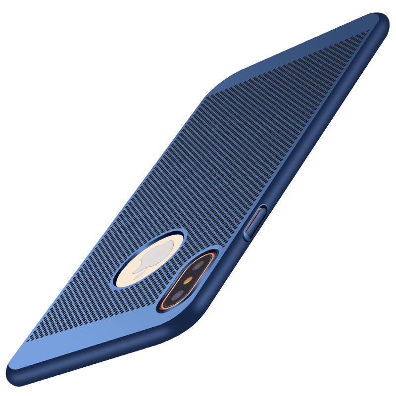 New-For-Apple-iPhone-8-Case-Honeycomb-PC-Matte-Back-Cover-Heat-Dissipation-Cooling-Housing-For (1)