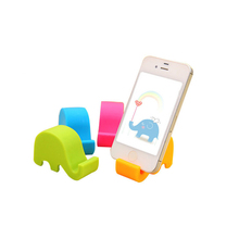 Mini Mobile Phone Holder Cute Elephant  Portable Phones Fixed Holder Simple Debris Storage Rack Home Supplies Random Delivery