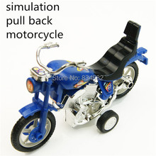 J.G Chen Pull Back Motorcycle Vehicle Toys Birthday Gifts for Boys and Children Motor Bike Scale Models Kids Toys Brinquedos