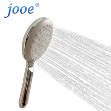 jooe 3 functions hand hold shower head Water Saving massage spray ABS with chrome hand bath showerhead Bathroom Accessories(China)