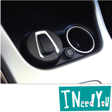 car Ash Tray Ashtray Storage Cup With For seat ateca mercedes mini cooper golf 7 bmw m serie 1 opel insignia Accessories(China)