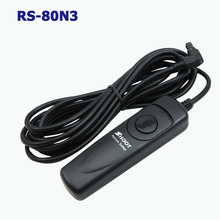 SHOOT camera RS-80N3 Remote Shutter Release for Canon 1D 1DS EOS 5D 50D 40D 30D 20D 10D 7D Cable Length 1M