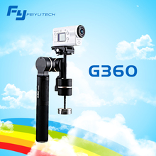 Feiyutech FY G360 3-axis Handheld Camera Gimbal  for camera and phones Dynamic Panorama Smart APP and Drop-proof fast-dismantle