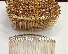 high quality 40MM 200PCS (gold & silver) Metal Hair Comb Claw Hairpins DIY Jewelry Accessories Findings & Components