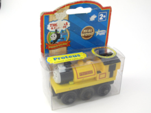 Wooden Thomas Train PROTEUS T107W Thomas And Friends Trackmaster Magnetic Tomas Truck Locomotive Engine Railway Toys for Boys(China)