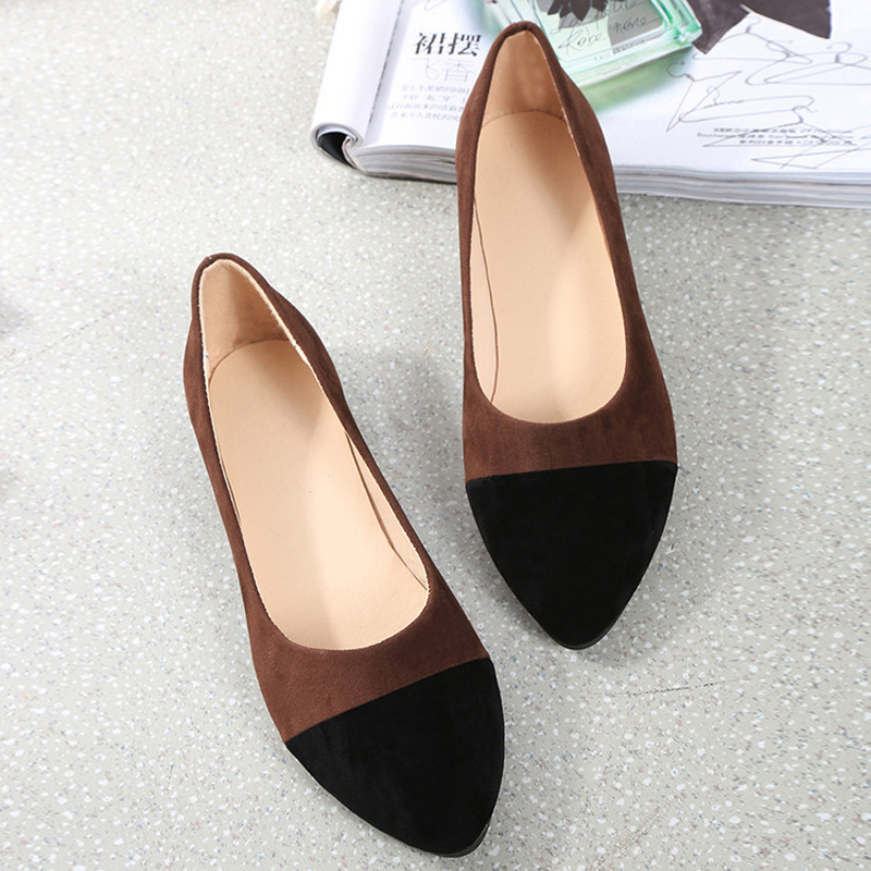 2017 New fashion pointed toe women flat shoes ladies elegant flat shoes summer women casual shoes scarpe donna BT499<br><br>Aliexpress