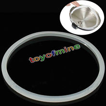 22 24 26 28 30 32cm Pressure Cookers White Silicone Rubber Gasket Sealing Ring Pressure Cooker Seal Ring Kitchen Cooking Tools(China)