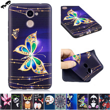 3D Silicone Case for Huawei Y7 Y 7 Prime 2017 TRT-LX1 Case Phone TPU Cover for Huawei Y7 / Nova Lite+ / Nova Lite Plus TRT LX1(China)