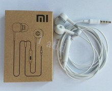 Cheaper 10pcs in-ear Earphone With Remote Mic for XiaoMi M2 M1 1S for iPhone Samsung super bass headset