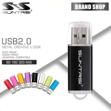 Suntrsi High speed usb flash drive 64g usb2.0 pen drive 32gb 16gb 8gb 4gb memoria usb stick for tablet PC pendrive free shipping