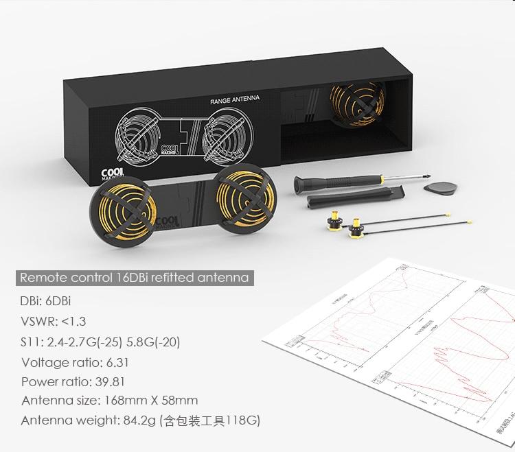 16DBi Antenna Signal Booster Range Extender Wifi Repeater For DJI MAVIC PRO SPARK INSPIRE 1 2 PHANTOM 4 PRO 4 3