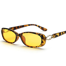 8100 Radiation-Resistant Computer Glasses Anti Blue Rays Goggles Gaming Eye Protection Yellow Lenses Diamond Women
