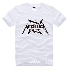 Buy Metallica hard metal rock band Men's T-Shirt T Shirt Men 2015 New Short Sleeve Cotton Casual Top Tee Camisetas Masculina for $10.21 in AliExpress store