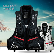 2017 NEW DAIWA Fishing life jacket Breathable outdoors Vest DAWA Fishing gear buoyancy 120 kg Man DAYIWA DF-3104 Free shipping
