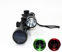 1pc Hunting Compact Air Gun Rifle Arms Combo 3-9x40EG Rifle Scope w/ CREE T6 LED Hunting Flashlight 5Mode C8 Torch Flash Light