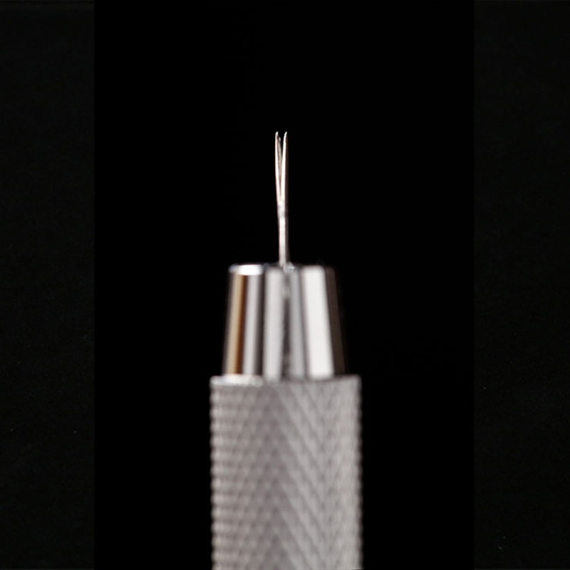 20PCS Microblading Needles 15 pin 2 Rows Permanent Makeup Tatoo Blade For 3D Eyebrow Embroidery Manual Tattoo Pen Machine 5