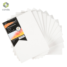 CONDA 5*7 inch Canvas Panels Pack of 12 Artist Quality Acid Free Canvas Board Oil Painting Board Professional Art Supplies(China)