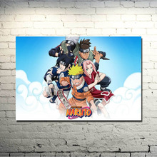 Naruto THE MOVIE Art Silk poster 13x20 20x30 Inch Anime Pictures Uzumaki Naruto Sasuke Kakashi Wall Decor 019