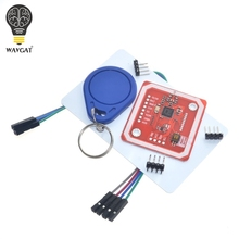1Set PN532 NFC RFID Wireless Module V3 User Kits Reader Writer Mode IC S50 Card PCB Attenna I2C IIC SPI HSU For Arduino WAVGAT(China)