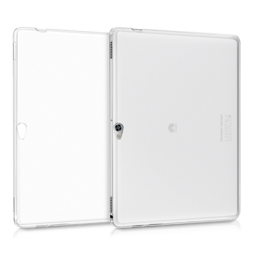 50Pcs/lot Ultra Thin Clear Transparent Case Flexible SLIM-Fit Soft TPU Gel Skin Back Cover for Huawei MediaPad M2 10.0inch<br><br>Aliexpress