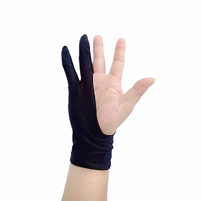 artist-glove-anti-fouling-glove-drawing-gloves-graphics-tablet-for-drawing-Black-2-finger-painting-digital
