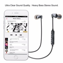 TC01S Ceramic Bluetooth 4.2 Earphone Wireless Sports Earphones stereo Bluetooth headset HIFI Bass Earbuds with MIC for all phone(China)