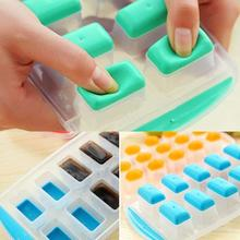 1Pc Ball Dots Ice Mold Ice Cube Tray Ice-making Box Mold For Bar Party Kitchenc Cooking Tools Jelly Chocolate Maker Square