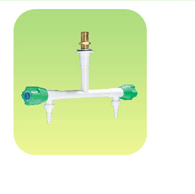 B2005 dual - port hanging taps pure copper<br>